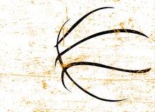 Manifesto di pallacanestro Fotografie Stock