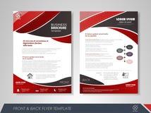 Manifesto di pubblicità di progettazione Immagine Stock