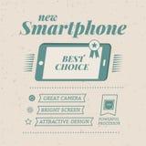 Manifesto di Smartphone Fotografia Stock