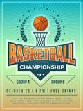 Manifesto di sport Simbolizzi il logo o lo schermo del distintivo per il retro cartello di vettore della competizione sportiva co royalty illustrazione gratis
