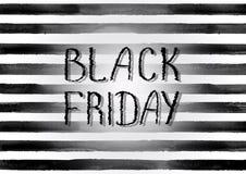Manifesto di vendita di Black Friday Immagine Stock Libera da Diritti