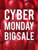 Manifesto di vendita di Black Friday Fotografia Stock