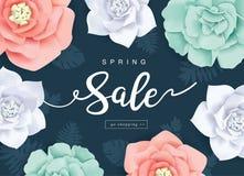Manifesto di vendita della primavera Immagine Stock Libera da Diritti