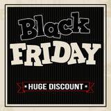 Manifesto di vendita di Black Friday royalty illustrazione gratis
