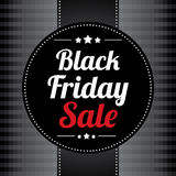 Manifesto di vendita di Black Friday Immagini Stock Libere da Diritti