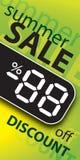 Manifesto di vendita di vettore Fotografia Stock Libera da Diritti