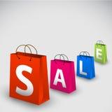 Manifesto di vendita di vettore Fotografia Stock