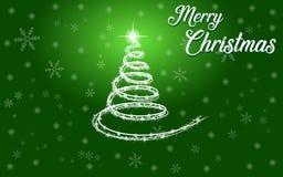 Manifesto di vettore di Buon Natale, insegna del buon anno, fondo di natale, partito di natale, illustrazione di vettore, eps10 immagine stock libera da diritti