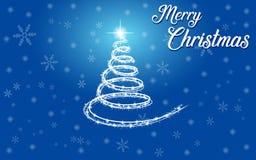 Manifesto di vettore di Buon Natale, insegna del buon anno, fondo di natale, partito di natale, illustrazione di vettore, eps10 fotografia stock