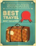 Manifesto di viaggio Immagine Stock
