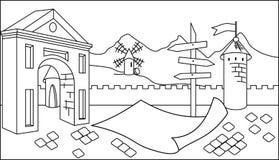 Manifesto di viaggio illustrazione vettoriale