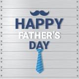 Manifesto felice della cartolina d'auguri di Day Family Holiday del padre Fotografie Stock