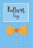 Manifesto felice della cartolina d'auguri di Day Family Holiday del padre Fotografia Stock