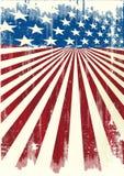 Manifesto fresco americano Fotografia Stock