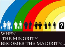 Manifesto infographic Fotografia Stock Libera da Diritti
