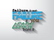 Manifesto motivazionale Immagine Stock
