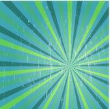 Manifesto multicolore dell'annata del fondo A di lerciume dei raggi di sole royalty illustrazione gratis
