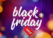 Manifesto nero del fondo di vendita di venerdì Evento di promozione di offerta speciale royalty illustrazione gratis