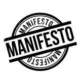 Manifesto rubber stamp Stock Photo