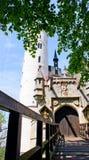 Manificent  Castle in  Liechtenstein. Stock Images