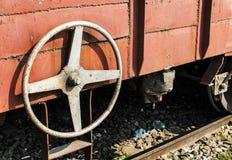 Maniglia del treno Immagini Stock Libere da Diritti