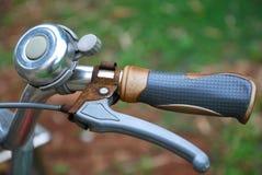 Maniglia della bicicletta fotografia stock