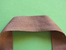 Maniglia della borsa del tessuto Immagini Stock