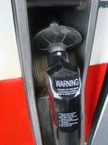 Maniglia della pompa di gas immagini stock