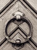 Maniglia della porta d'annata Fotografie Stock