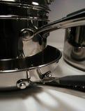 Maniglia della vaschetta Fotografie Stock
