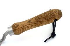 Maniglia di legno Fotografie Stock