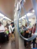 Maniglia di offuscamento su un treno Fotografia Stock Libera da Diritti