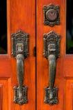 Maniglia di porta Fotografie Stock