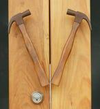 Maniglia di porta Fotografia Stock Libera da Diritti