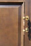 Maniglia di porta Fotografie Stock Libere da Diritti
