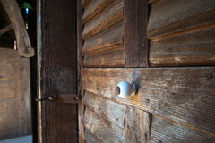 Maniglia di porta Fotografia Stock