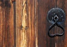 Maniglia di porta d'annata immagini stock