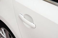Maniglia di porta dell'automobile Immagine Stock