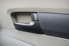 Maniglia di porta dell'automobile dell'automobile Fotografia Stock Libera da Diritti