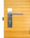 Maniglia di porta di alluminio Fotografia Stock Libera da Diritti