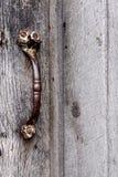 Maniglia di porta storica della cabina del ceppo fotografie stock libere da diritti