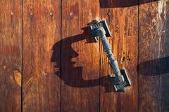 Maniglia di portello Fotografia Stock Libera da Diritti