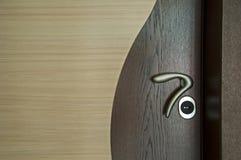 Maniglia di portello Fotografie Stock