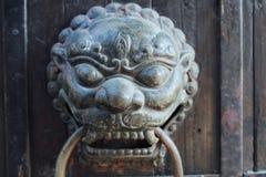 Maniglia di portello cinese Immagine Stock Libera da Diritti