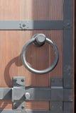 Maniglia di portello con la serratura Fotografia Stock Libera da Diritti