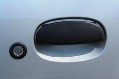 Maniglia di portello dell'automobile Fotografie Stock