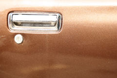 Maniglia di portello dell'automobile Immagine Stock Libera da Diritti