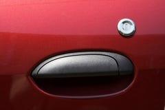 Maniglia di portello dell'automobile Fotografie Stock Libere da Diritti