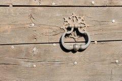 maniglia di portello vecchia Immagini Stock Libere da Diritti