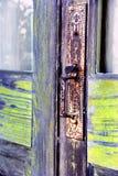 Maniglia invecchiante Fotografia Stock Libera da Diritti